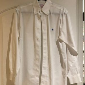 Brooks Brothers white button down